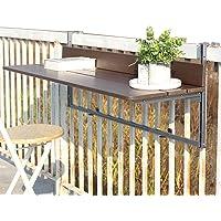 Balcony Hanging Table, Connect The Balcony, Foldable, Liftable, Desk,Bar Table, Aluminum Alloy, Sun Protection, Very…