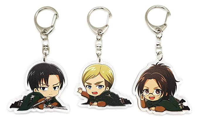 Amazon Com Ebty Dreams Inc Set Of 3 Attack On Titan
