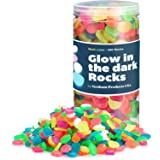 Graham Products Glow in The Dark Rocks Non-Toxic Glowing Stones for Use as Aquarium/Fish Tank Accessories or Indoor/Outdoor D