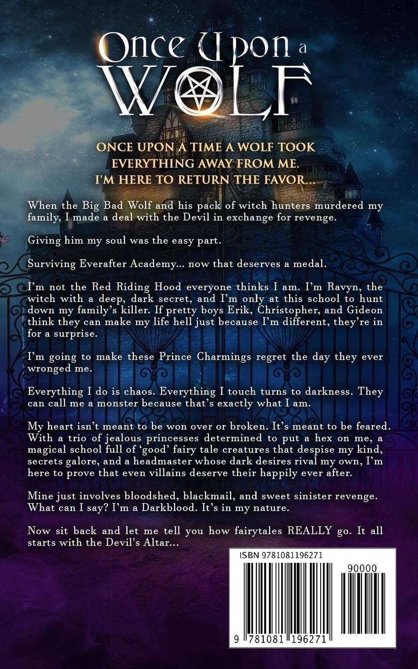 Buy Once Upon A Wolf: A Dark Academy Reverse Harem Romance