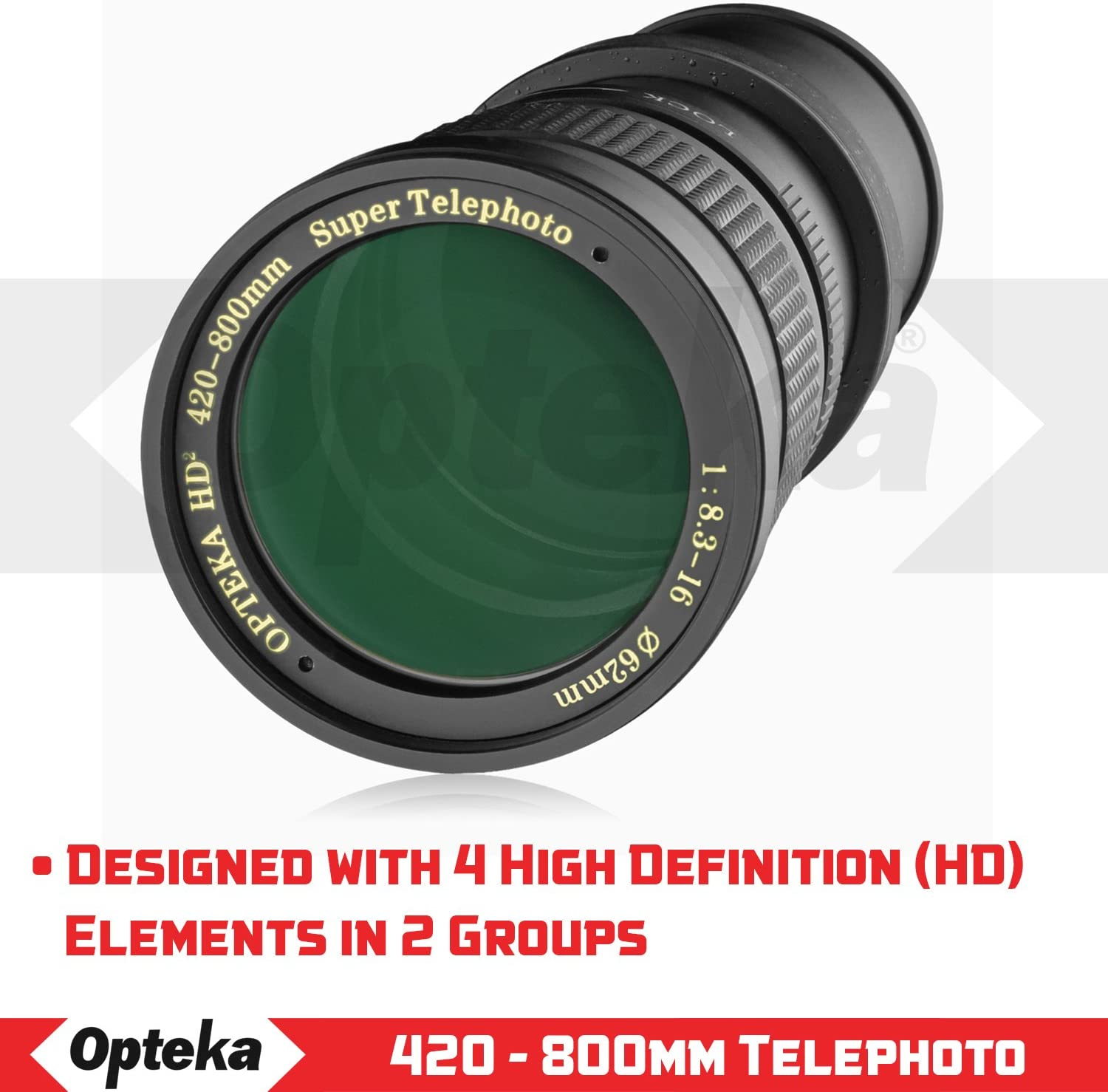 A580 w// 2X- 840-1600mm A55 A58 A33 A390 A550 A900 A68 A65 A290 DSLR Cameras A77 A37 A560 Opteka 420-800mm f//8.3 HD Telephoto Zoom Lens for Sony Alpha A-Mount A99 A57 A35 A700 A380