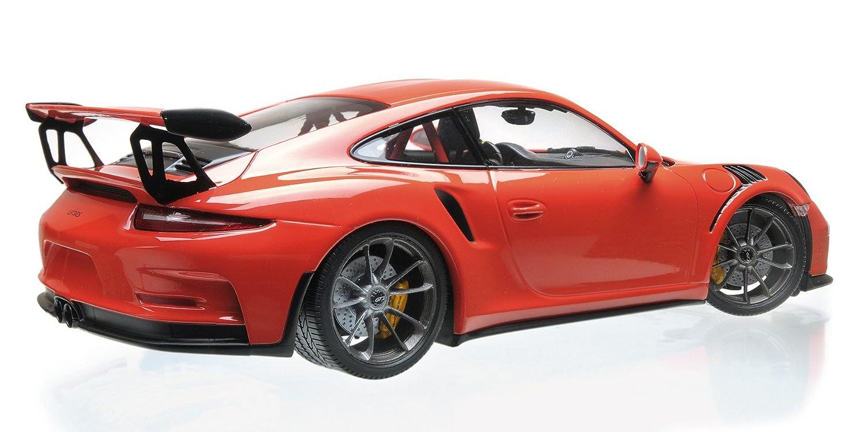 Amazon.com: 2015 Porsche 911 GT3 RS Lava Orange Limited Edition to 2,004 pieces Worldwide 1/18 Diecast Model Car by Minichamps 155066220: Toys & Games