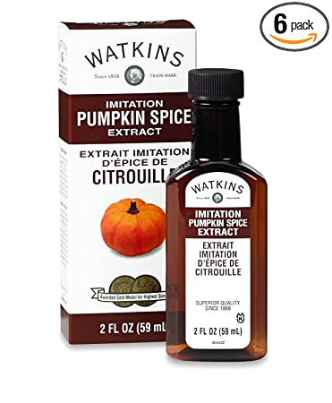 Watkins Imitation Extract, Pumpkin Spice, 2 Ounce (Pack of 6)