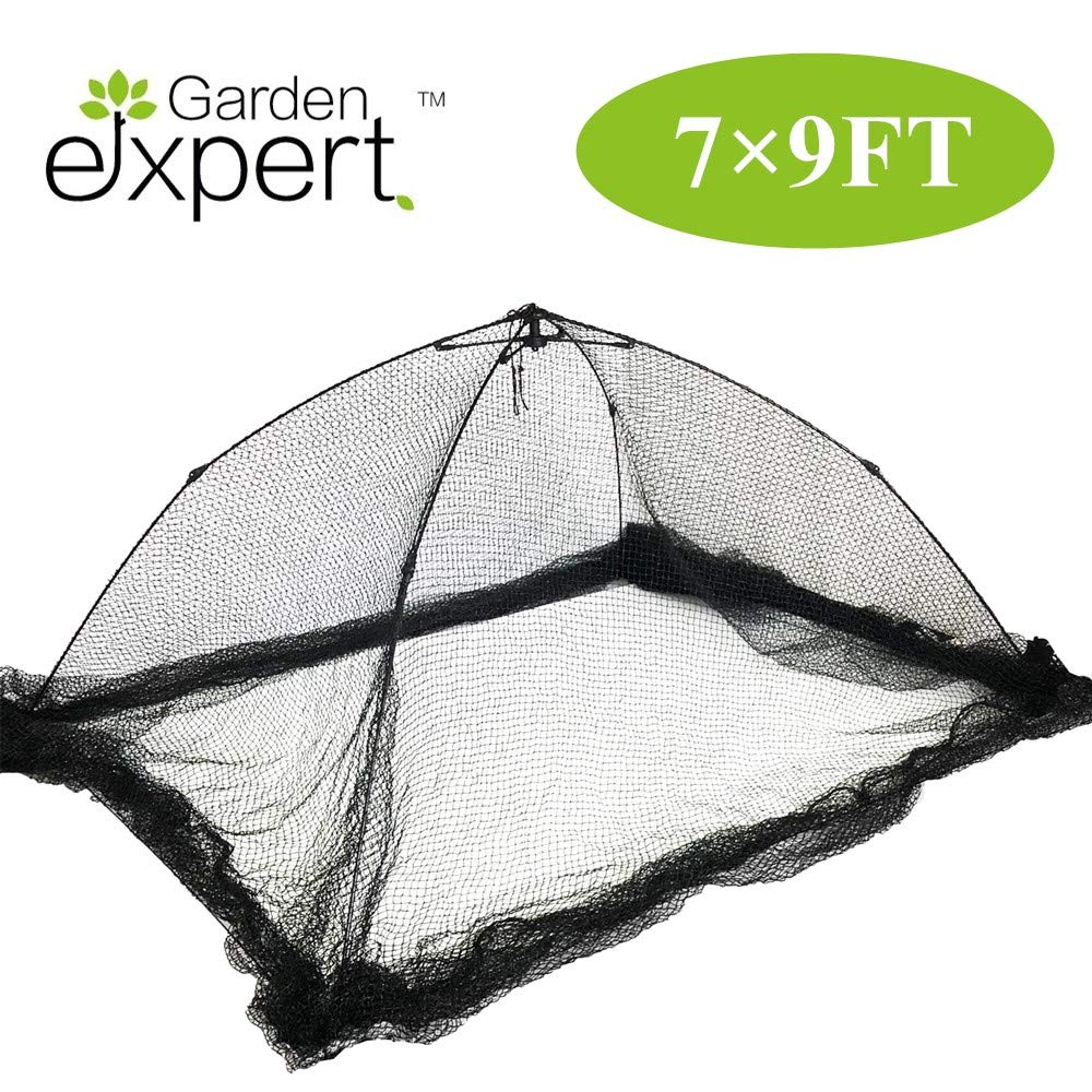 Garden EXPERT Pond Netting Garden Cover Protective Net Tent Dome Netting 7x9 Feet Suitable for Yard, Landscape, Pond, Garden by Garden EXPERT