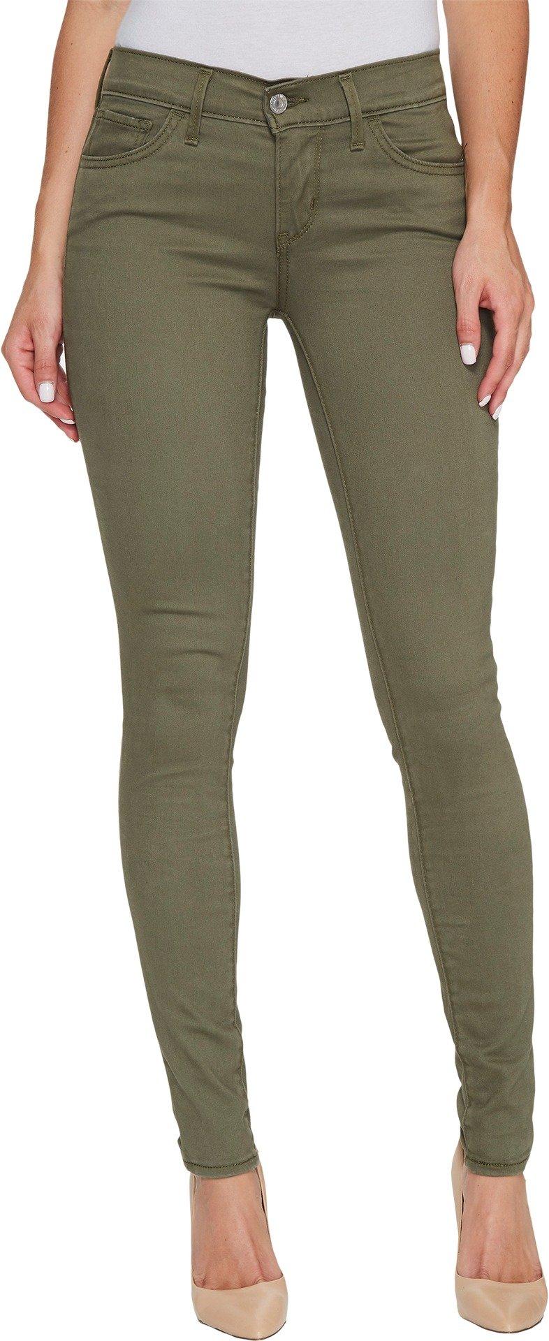 Levi's Women's 710 Super Skinny Jeans, Super Soft Kalamata, 26 (US 2) R