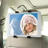 Tablet Halterung, ikalula Auto Kopfstütze Halterung Universal 360 °Drehen Einfache Installation Tablet Halterung Halter für 6-11 Zoll Tablets
