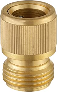 A8009 Garden Hose Brass Quick Connector