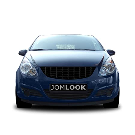 JOM 6320032OE Calandra, Opel Corsa D Bj. 07-, sin Emblema, Negra: Amazon.es: Coche y moto