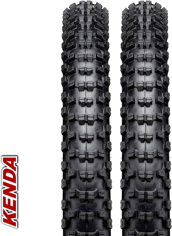 Pair KENDA Nevegal 26 x 2.1 DTC Wired Mountain Bike Tyres