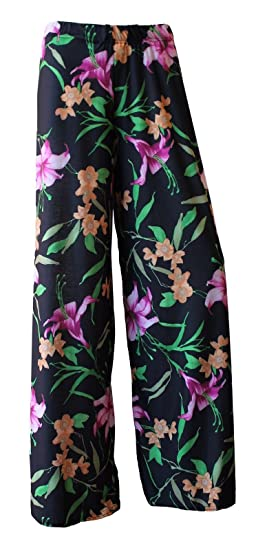 Floral Print Palazzo Pants for Women. Sizes 8 to 26
