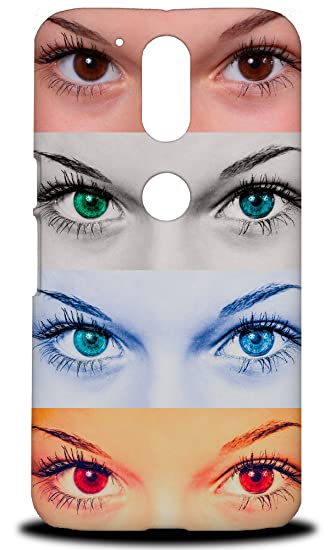 Sexy Dreamy Girl Eyes #3 Hard Phone Case Cover for Motorola Moto G4