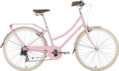 BOBBIN Brownie Bicicleta Urbana, Mujer, Rosa (Blossom Pink), 35 ...