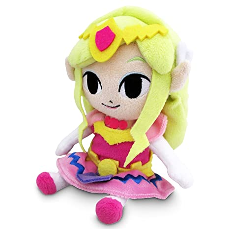 Together - Peluche Zelda - Princess of Zelda 17cm - 3700789291831