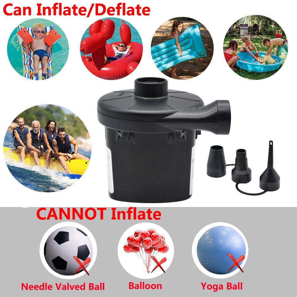 Amazon.com: Bomba eléctrica para inflables de aire colchón ...
