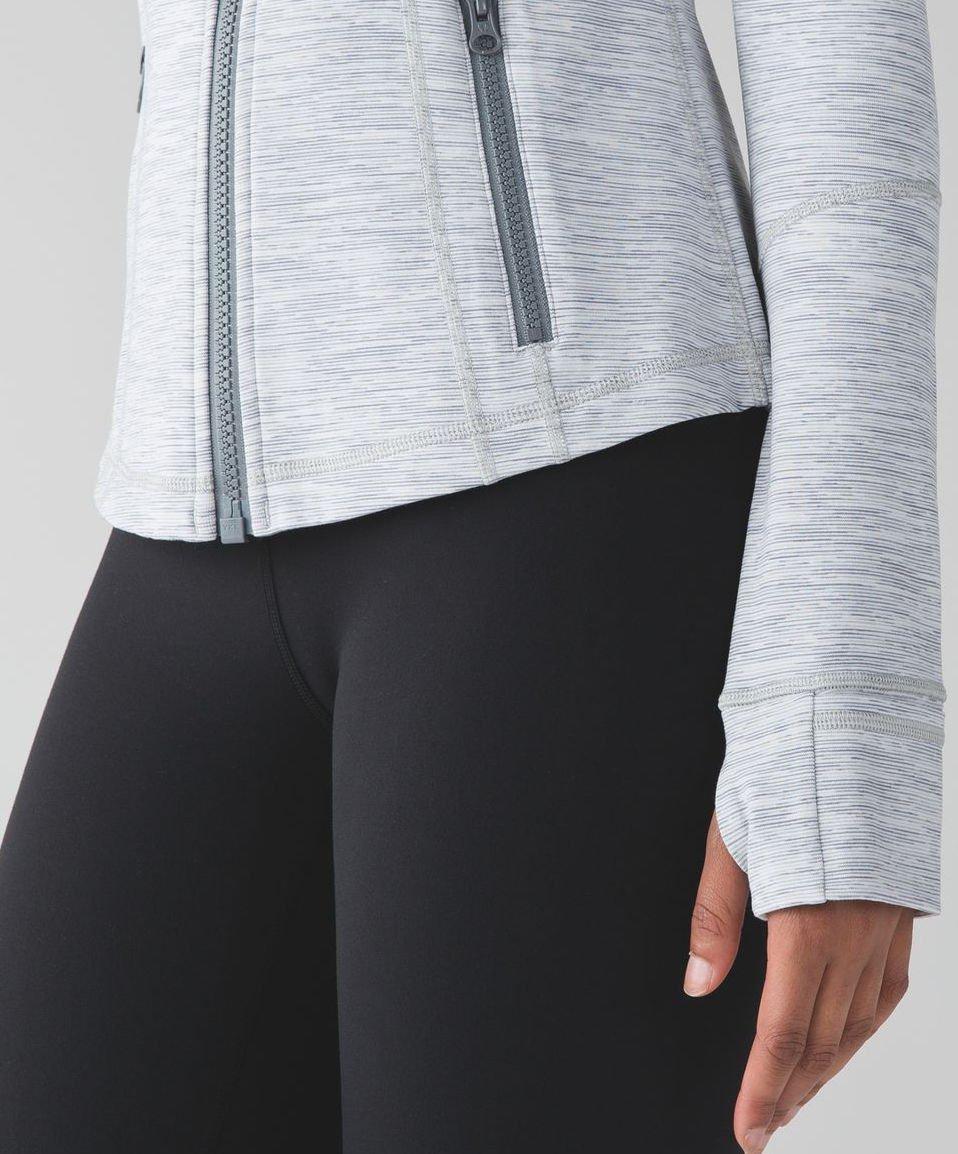 Lululemon Define Jacket (4, Wee Are From Space Ice Grey Alpine White) by Lululemon (Image #7)