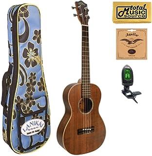 B smart red dress ukulele