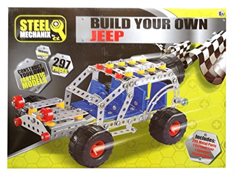 Amazon Com Steel Mechanix Build Your Own Jeep Toys Games