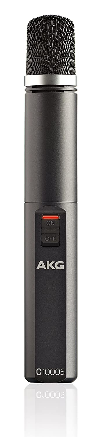 Amazon.com: AKG Pro Audio C1000s Condenser Microphone, Multipattern:  Musical Instruments