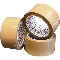 De bruine Zelfklevende Band met geringe geluidssterkte van pp 55 mm X 66 Meter, Beste voor Voedsel & Pharma-Industrieën