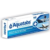 Kathmandu Aquatabs Drinking Treatment Disinfect Purification Tablets 50 Pills Uncoloured ONE