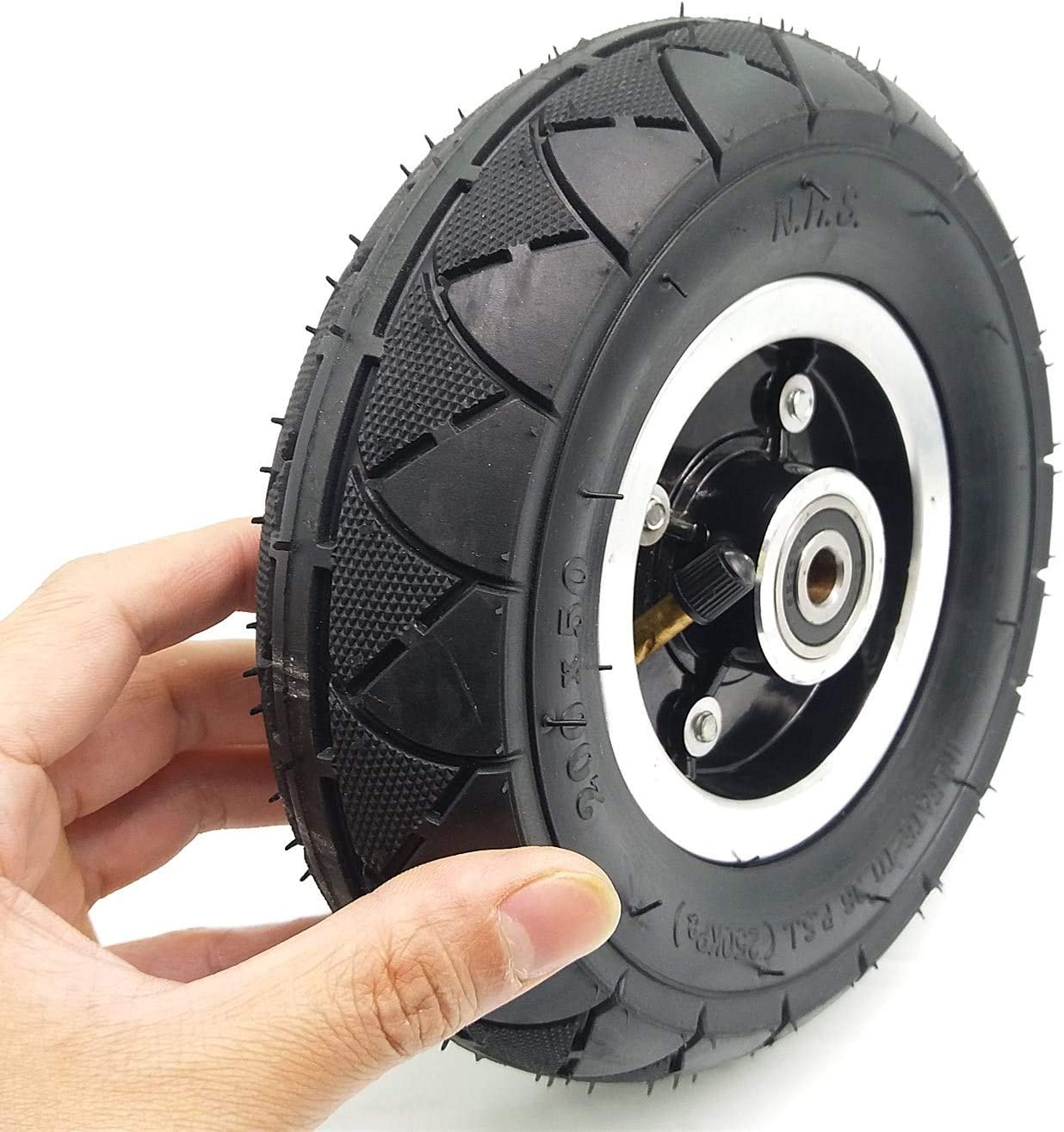 200x50 Electric Scooter Aluminum Front Rim Wheels Front Wheel hub Scooter tires