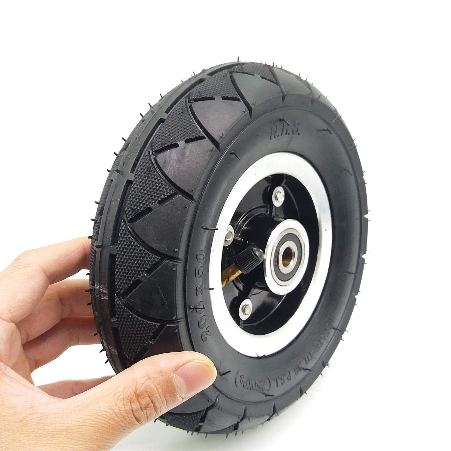 What Does Tire Size Mean >> Automotive Qind Electric Scooter Tyre With Wheel Hub 8 Scooter 200x50 Tyre Inflation Electric Vehicle Aluminium Alloy Wheel Pneumatic Tire