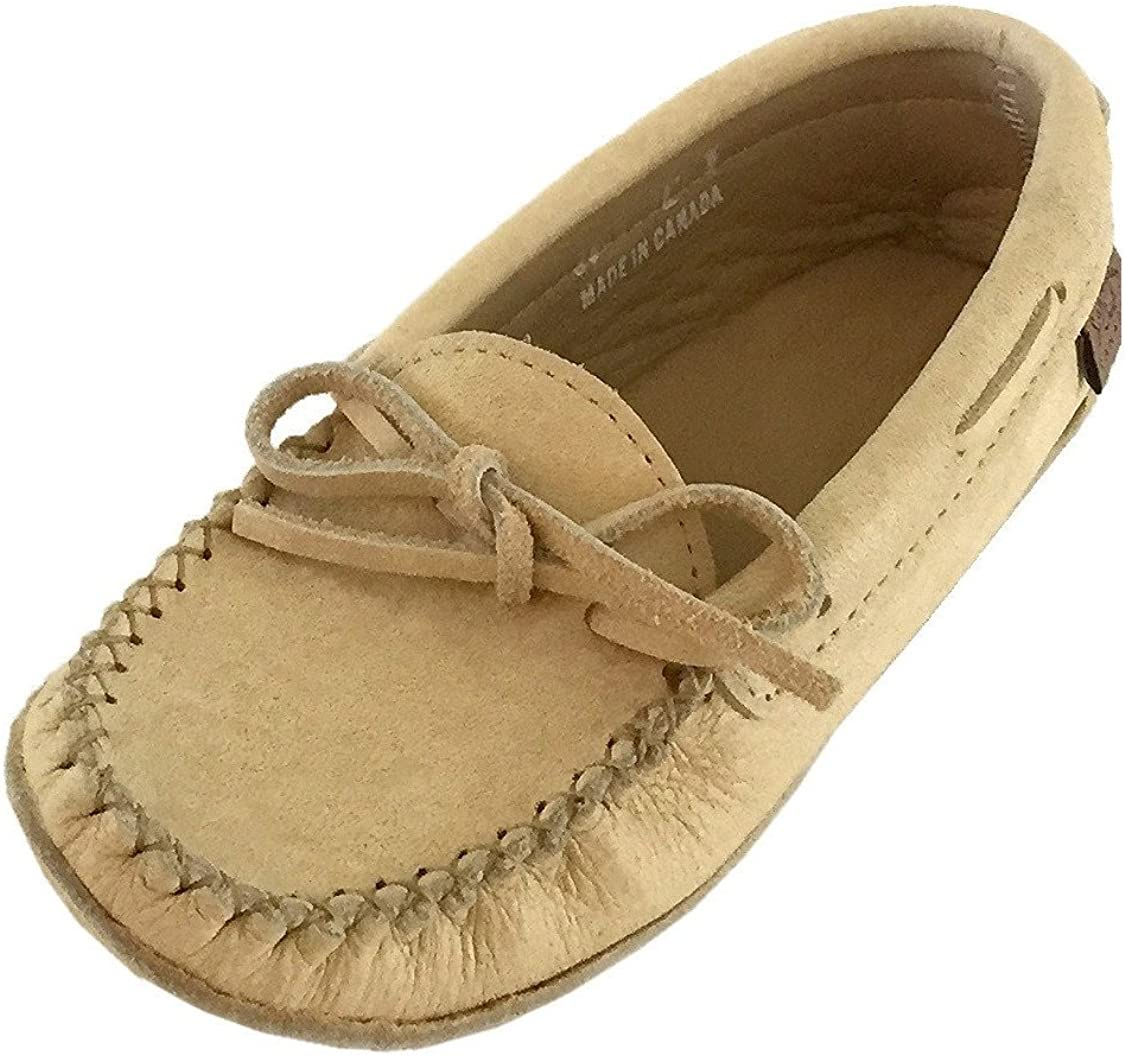 Caribou Leather Moccasins | Slippers