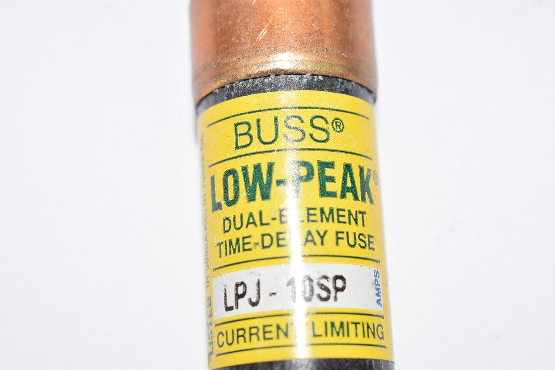 LPJ-45SP Bussman Fuses LOT OF 10 FUSES ~NEW~ 6F367