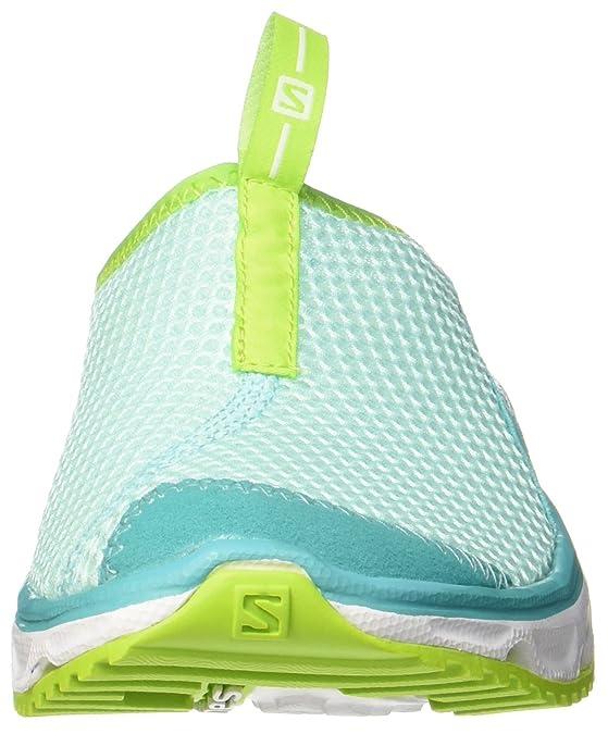 Salomon Rx Slide 3.0 W, Zapatillas de Trail Running Mujer,Aruba Blue/White/Lime Green, 36 2/3: Amazon.es: Zapatos y complementos