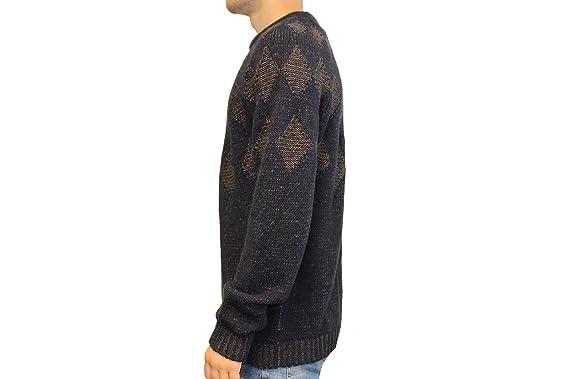 Drykorn Herren Pullover Gr XL Blau Wollpullover Wolle Strick BAZE Winter   D162  Amazon.de  Bekleidung 9f1fa058f4