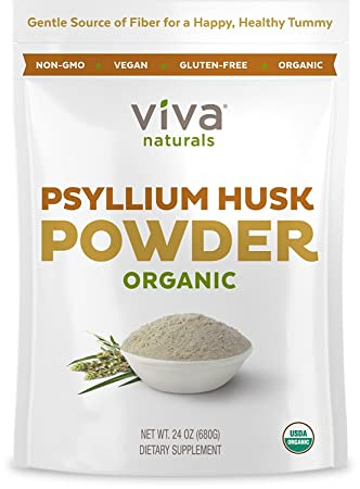 psyllium husk powder treatment for xanthan gum allergy