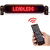 Amazon.com: Leadleds. Placa luminosa con mensaje ...