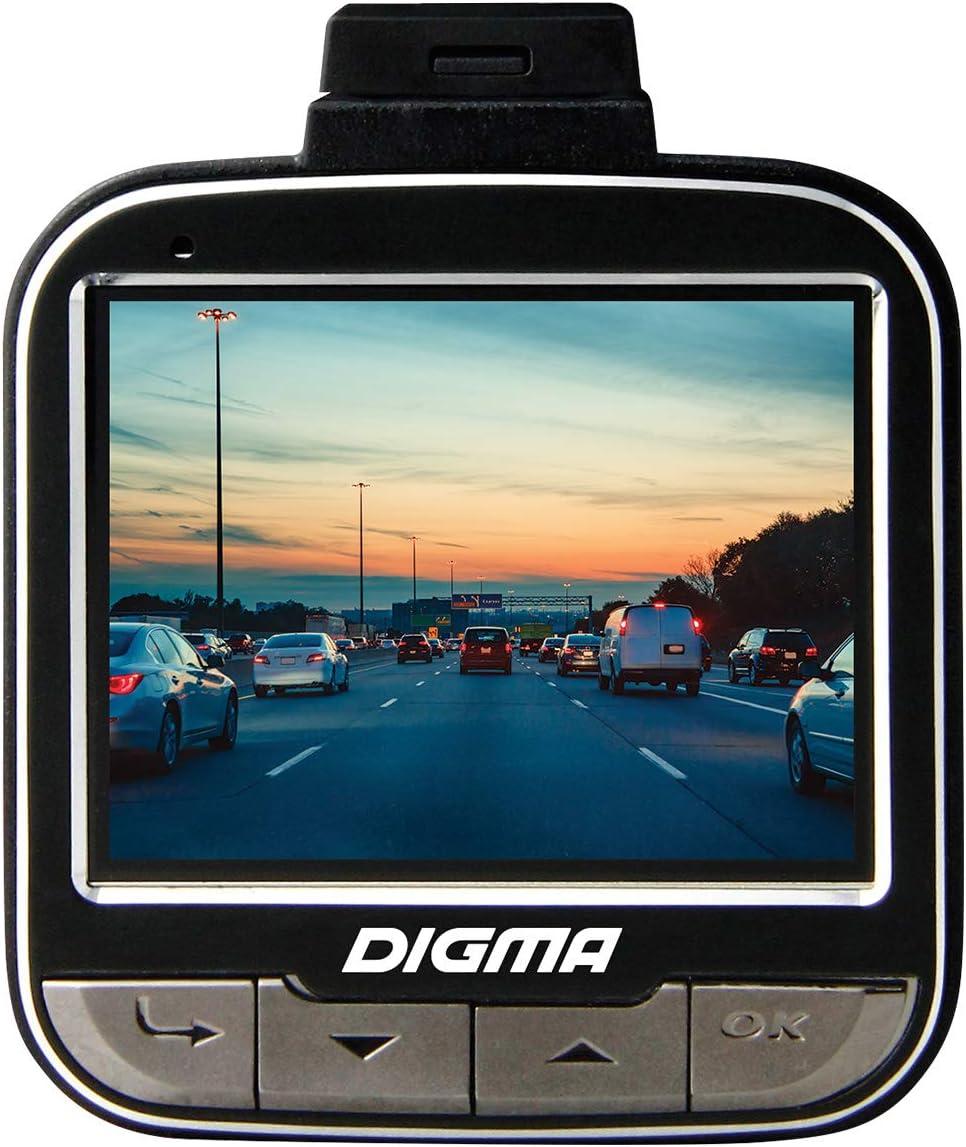 rilevamento movimento Dashcam DIGMA FreeDrive 440 Full HD fotocamera auto 1080P DVR con grandangolo 140 visione notturna e sensore G registrazione loop