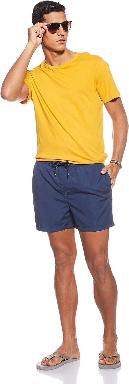JACK /& JONES Costume Cali Uomo Bluette Boxer con Taschino 12147041