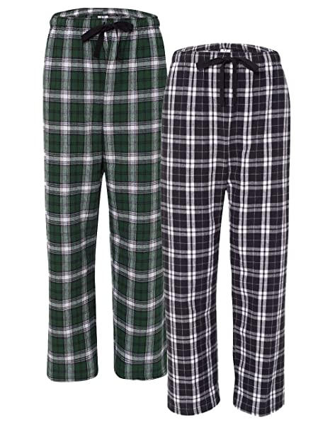 ae30188ddd boxercraft Women s Flannel Lounge Pants with Pockets (Pack of 2) at ...