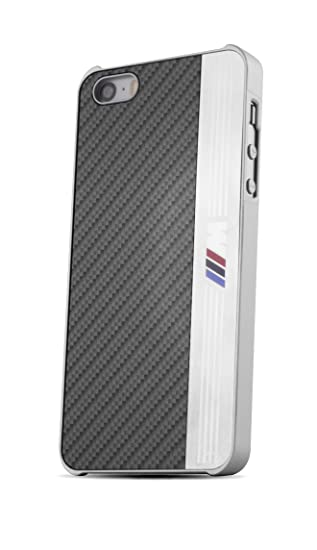 separation shoes 058e4 29597 Bmhcp5meb BMW Aluminium (M Series Logo) Black Stripe Hard Cover Case for  iPhone 5s 5