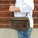 NutSac Man-Bag, Dammit - Small Mens Bag in Waxed