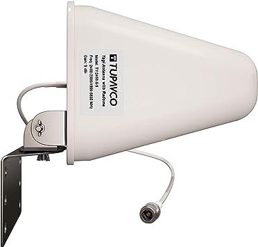 Tupavco DB541 Yagi Antena de WiFi de Banda Dual: Amazon.es ...