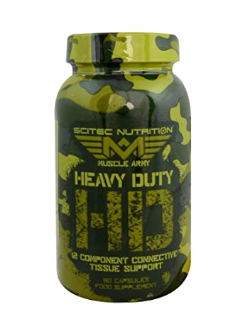 Scitec muscle army heavy duty 90caps