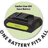 Garden Gear 20V Cordless Spare Battery