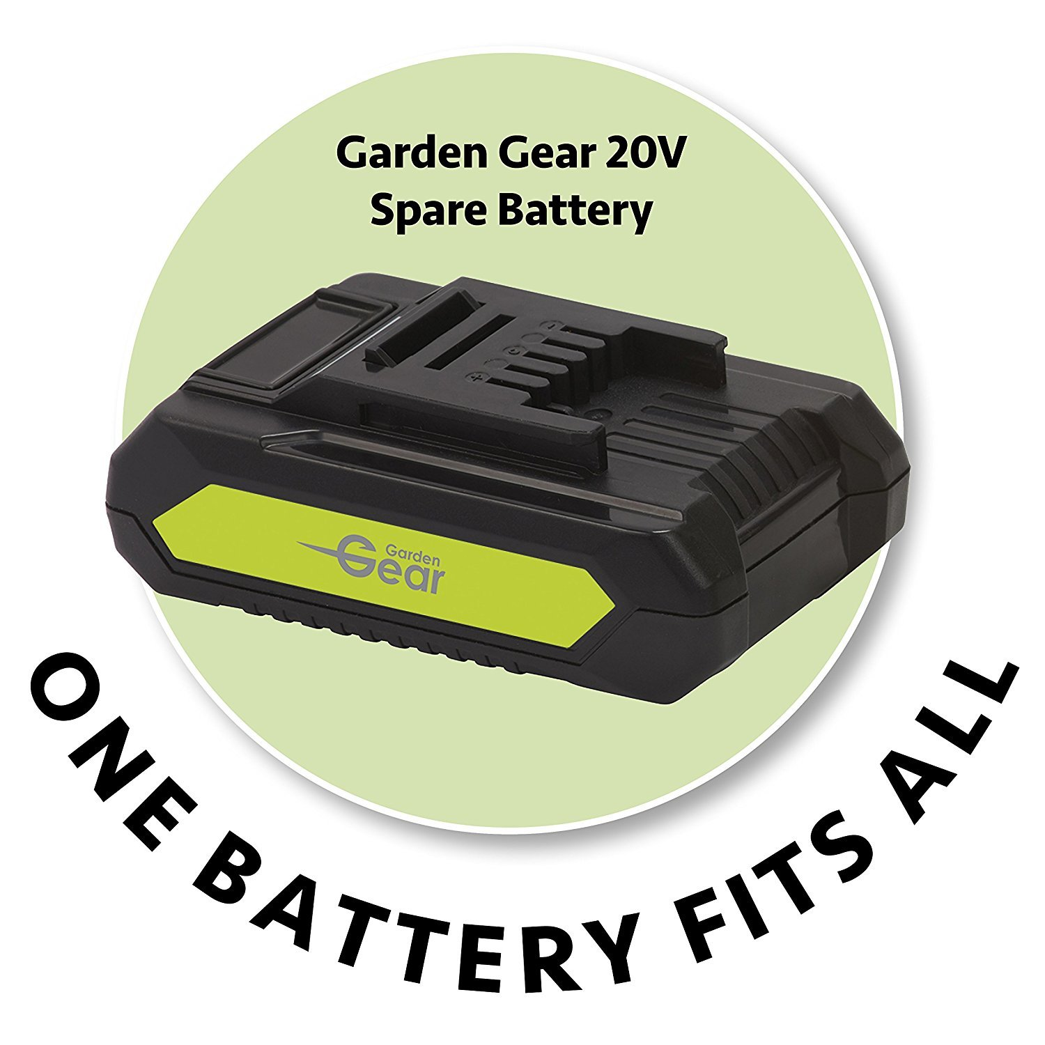 Garden Gear 20V Cordless Spare Battery Clifford James