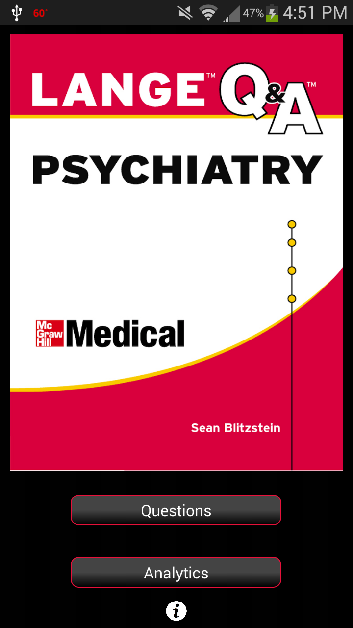 Psychiatry LANGE Q&A