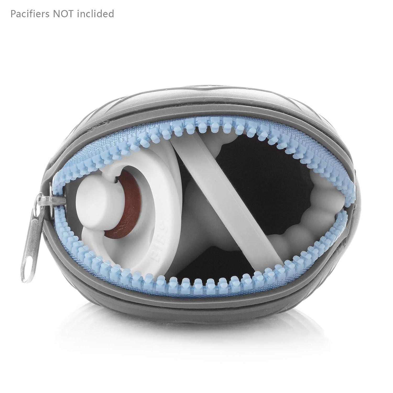 Ali+Oli Pacifier Holder Case (Grey) : Baby