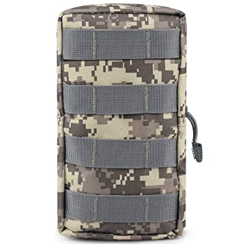 Tactical Military Hunting Outdoor Molle Medical Pouch Magazine Cellphone Bag A