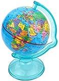 Tirelire globe terrestre mappemonde 16cm