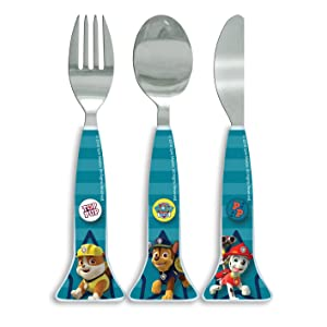 6 x Reusable Plastic Baby Fork /&  Spoon Kids Cutlery Set BS EN 14372