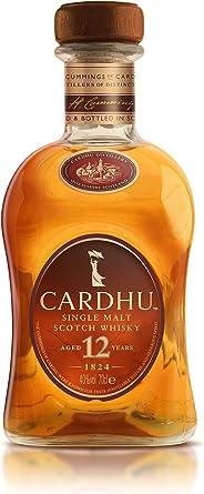 Cardhu 12 Años Whisky Escocés Puro de Malta Edición Limitada en Estuche de Regalo - 700 ml: Amazon.es: Alimentación y bebidas