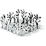 Alessi Mediterraneo - Portasalviette in acciaio inox 18/10, finitura lucida a specchio