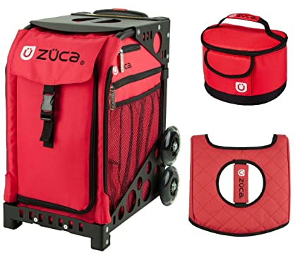 459946d67a60 Amazon.com : ZUCA Sport Bag - Chili with Gift Lunchbox and Seat ...