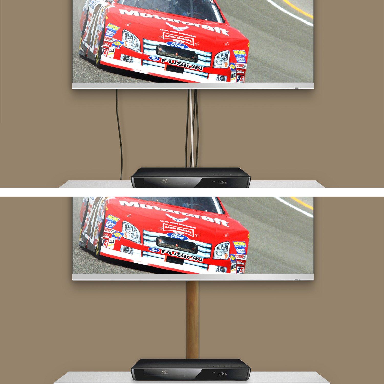 TV Design alluminio cavo canale in silbermatt anodizzato in diverse lunghezze